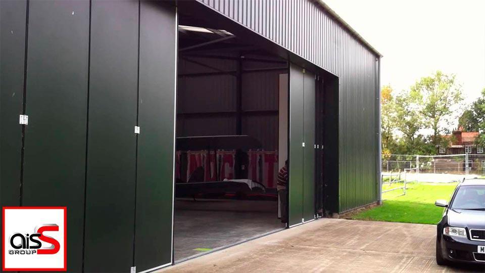 боковые гаражные ворота
