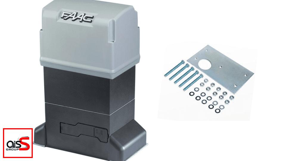 Автоматика FAAC-844 – это универсальная и мощная автоматика для ворот промышленной серии