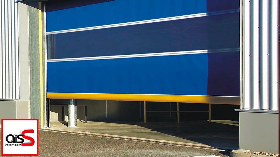 На фото Скоростные ворота В Запорожье