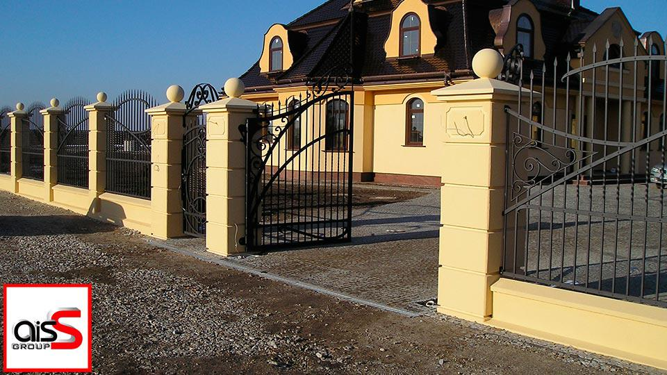 Купить кованные распашные ворота