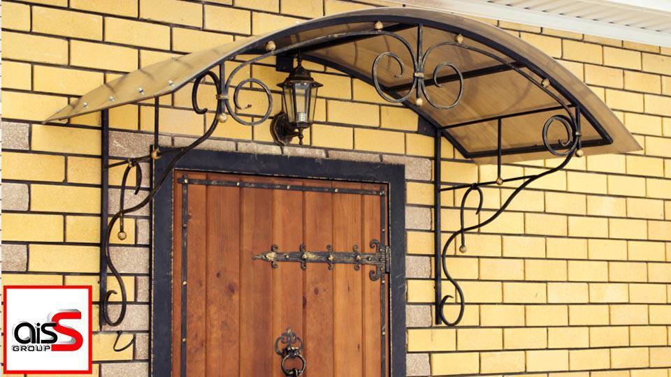 Купить козырек для дома в Запорожье
