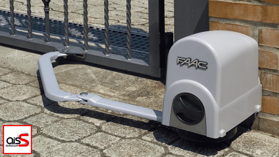 Представленную на фото автоматику для ворот Вы можете преобрести у компании