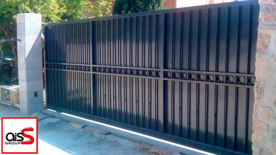 Скидка на откатные ворота в Запорожье