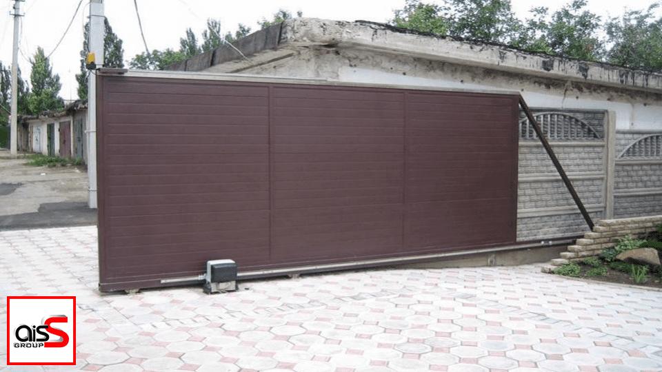 Удобное и современное решение для гаража и не только - откатные ворота Ryterna