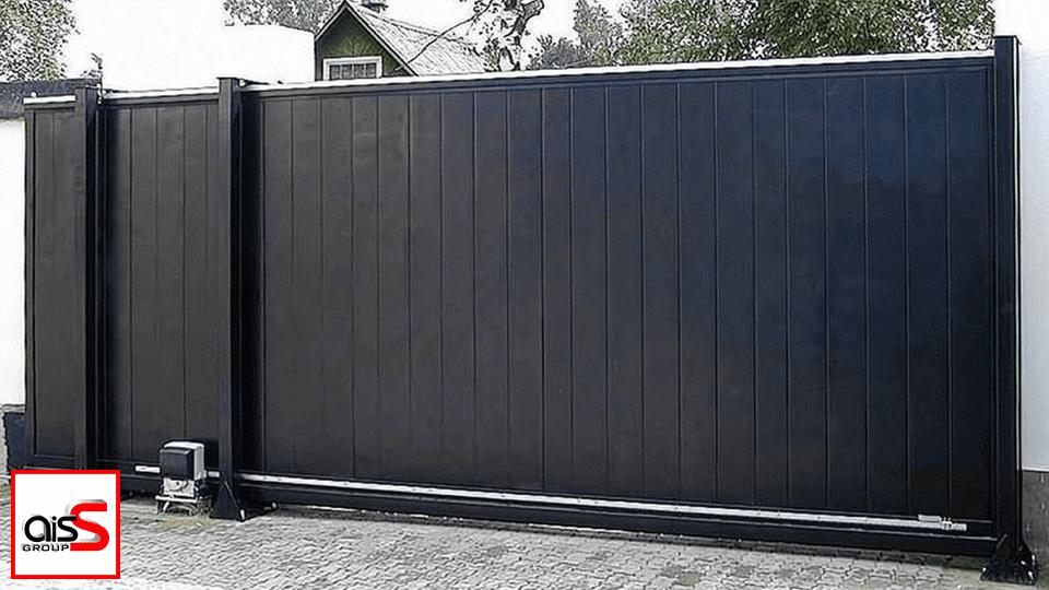 Для производства откатных ворот Запорожья используются только самые качественные комплектующие