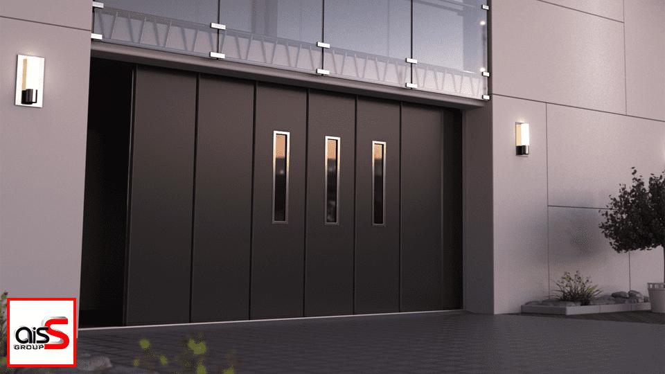 Удобное и современное решение для гаража и не только - откатные ворота Ryterna, модель SSD (Sliding Sectional Door).