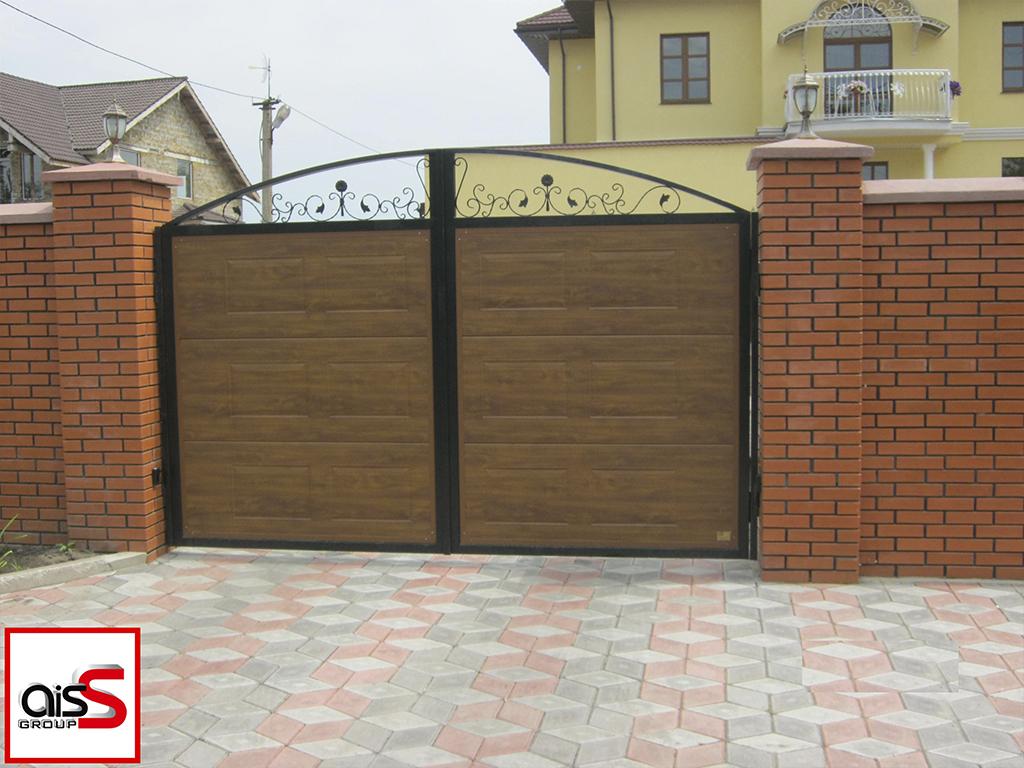 Купить автоматические откатные ворота Запорожье по выгодной цене