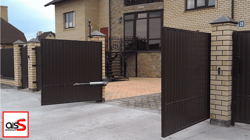 распашные ворота в запорожье
