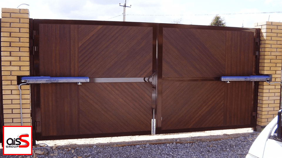Ремонт привода распашных ворот в Запорожье
