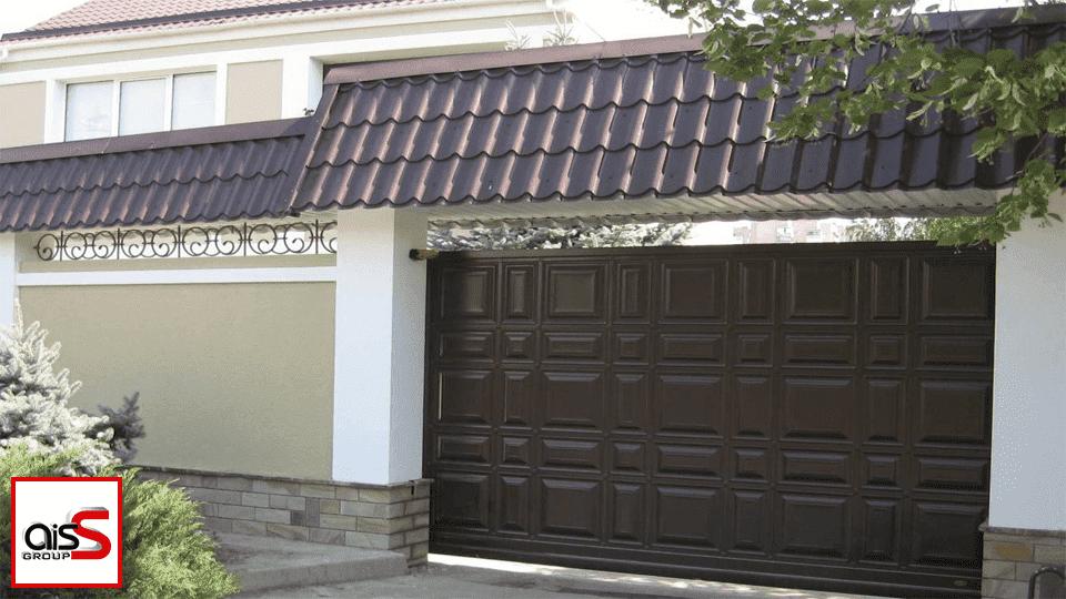 Въездные ворота, как на фото— это настоящий форпост вашего дома.